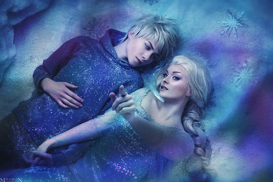 Jack Frost et Elsa