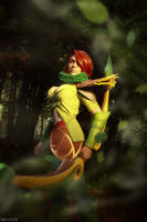 DotA 2 - WindRanger - The markswoman of the wood by MilliganVick