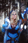 DotA 2 - Crystal Maiden - Let it snow by MilliganVick