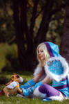 DotA 2 - Crystal Maiden - Best friends by MilliganVick