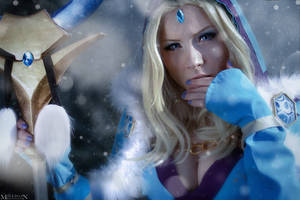 DotA 2 - Crystal Maiden - Frost bites! by MilliganVick