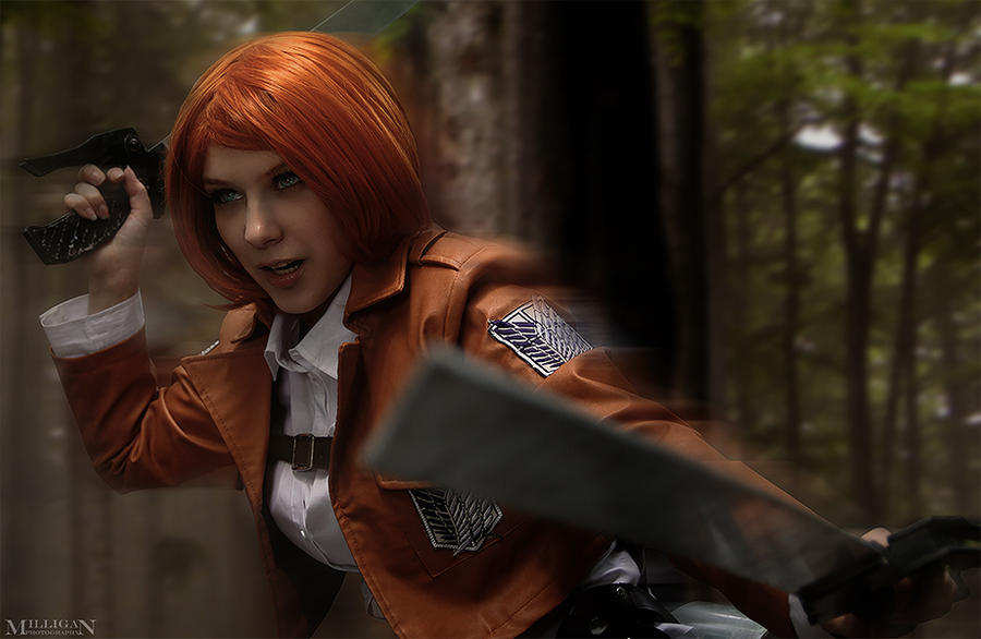 Attack on Titan - Petra Ral - Bring it on! by MilliganVick ...