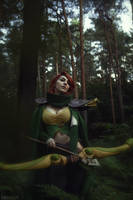 DotA 2 - WR - The markswoman of the wood by MilliganVick