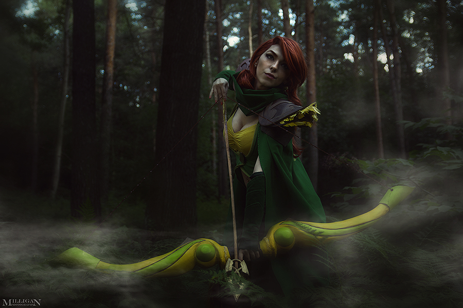 DotA 2 - WR - I'm a straight shooter by MilliganVick
