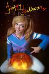 DotA 2 - Halloween - Rylai and Mr.PG