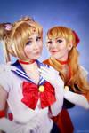SailorMoon- Moon and Venus