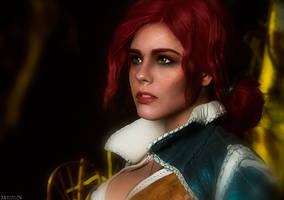 The Witcher: Wild Hunt - Triss portrait by MilliganVick