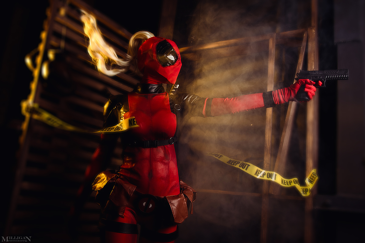 Lady Deadpool by MilliganVick