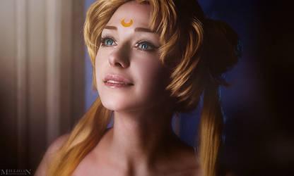 Sailor Moon - Princess Serenity by MilliganVick
