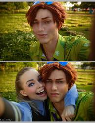 Zootopia - Judy and Nick's selfie