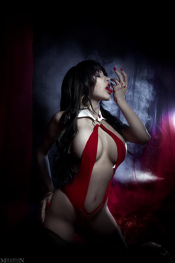 Vampirella by MilliganVick on DeviantArt