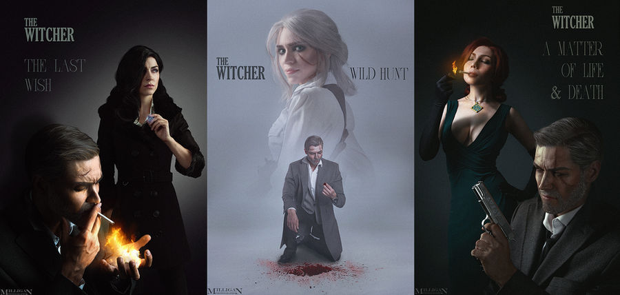 The Witcher - Noir Series