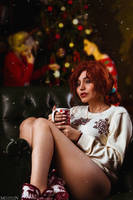 The Witcher - Christmas - Triss by MilliganVick