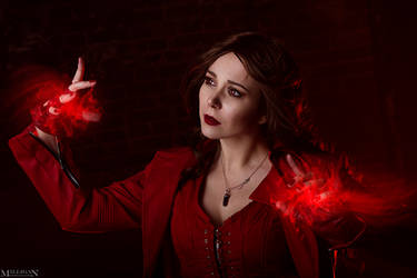 Scarlet Witch by MilliganVick