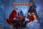 DotA 2 - Techies and CM - Merry Christmas