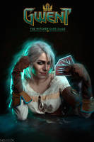 The Witcher - GWENT - Ciri by MilliganVick