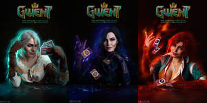 The Witcher - GWENT - Sorceresses