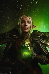 DA:I - Inquisitor Lavellan by MilliganVick