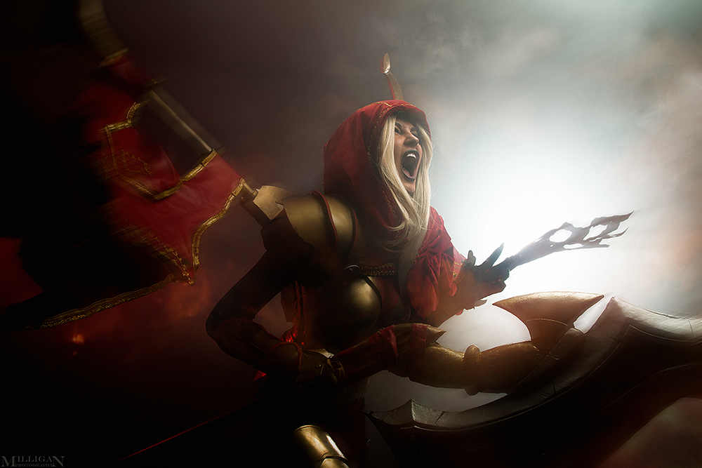 DotA 2 - Legion Commander by MilliganVick on DeviantArt