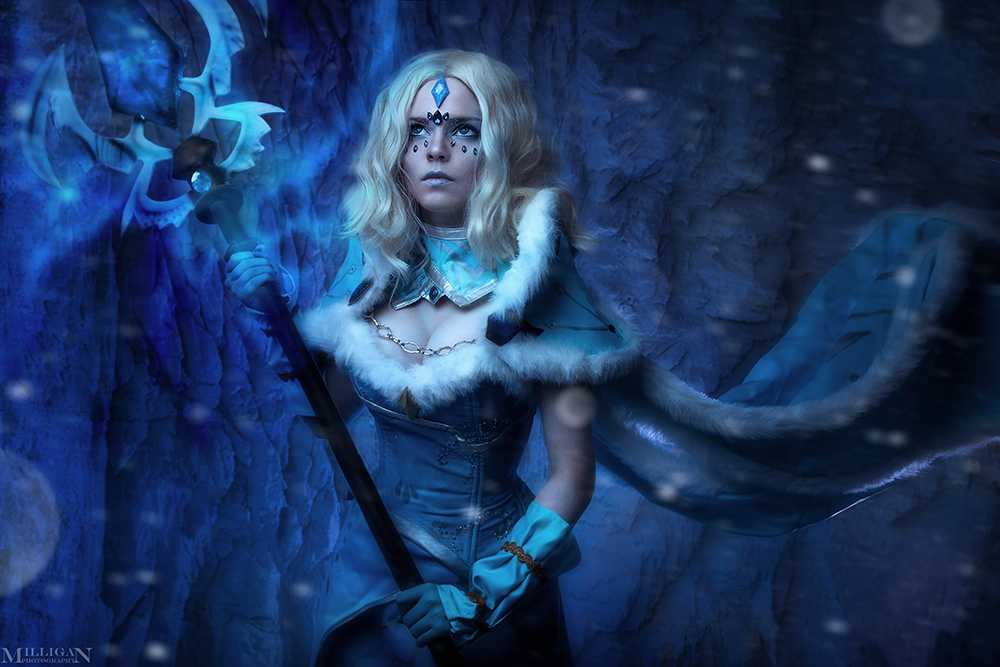 DotA 2 - Crystal Maiden Arcana by MilliganVick on DeviantArt