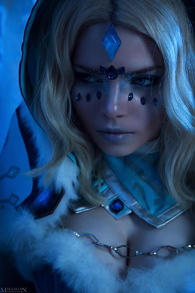 dota 2 crystal maiden arcana by milliganvick on deviantart
