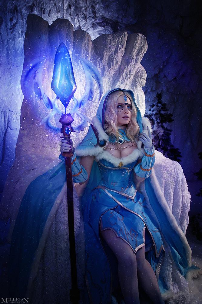 DotA 2 - Crystal Maiden Arcana by MilliganVick on DeviantArt