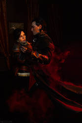 TW WH: Blood And Wine - Detlaff and Syanna by MilliganVick