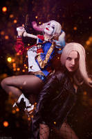 DC - Harley Quinn and Black Canary by MilliganVick