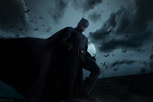 DC - Batman by MilliganVick