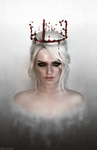 The Witcher - A crown worthy of the Empress by MilliganVick