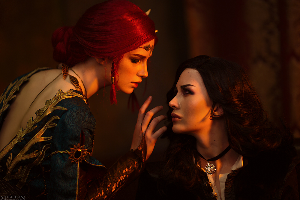 TW:WH - Yennefer, Triss by MilliganVick