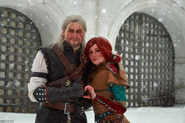TW:WH - Triss and Geralt by MilliganVick