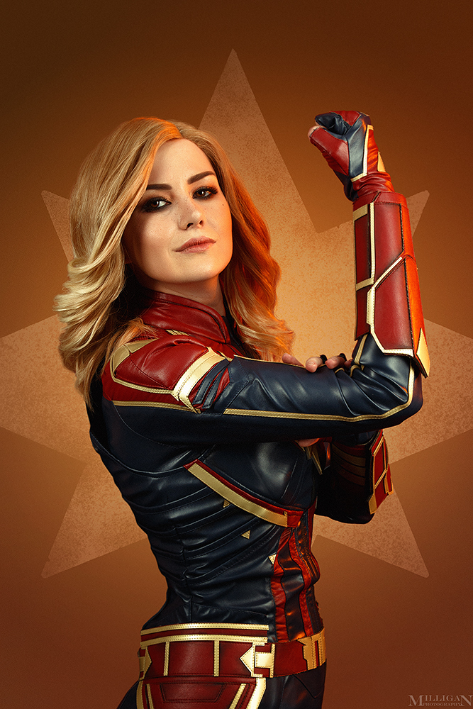 Captain Marvel by MilliganVick