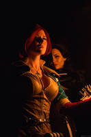 TW:WH - Triss and Yennefer by MilliganVick