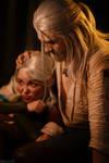TW:WH - Little Ciri and Geralt