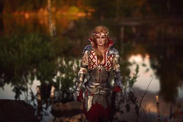 The Witcher 2 - Saskia by MilliganVick