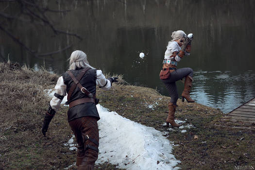 TW:WH - Ciri and Geralt