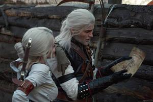 TW:WH - Ciri and Geralt