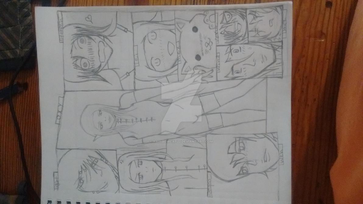 Otherworld characters manga style