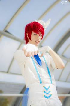Love Live,Maki Nishikino (Wonderful Rush) Cosplay
