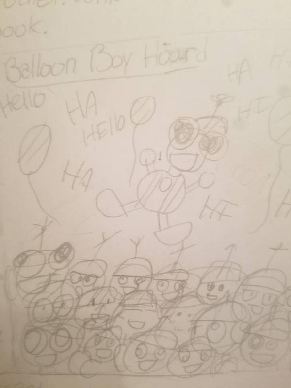 Balloon Boy Hoard by BeanieHutini