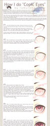 Tutorial: Copic Marker Eyes by amiamalie