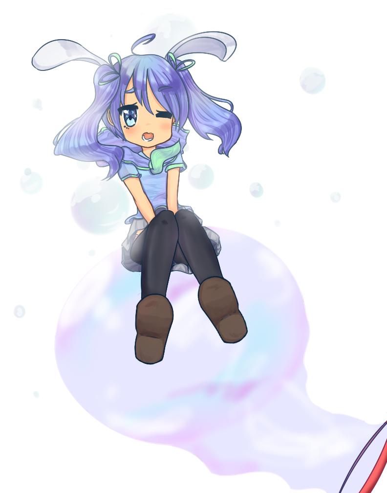 Bunny Bubble by zachsgotyourbac