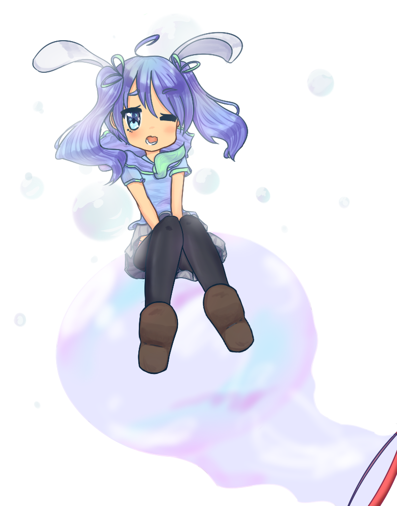 Bunny Bubble by Kukyi-kun