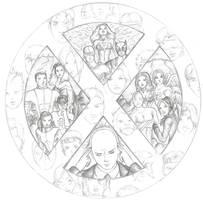 X-MEN by davidgozu