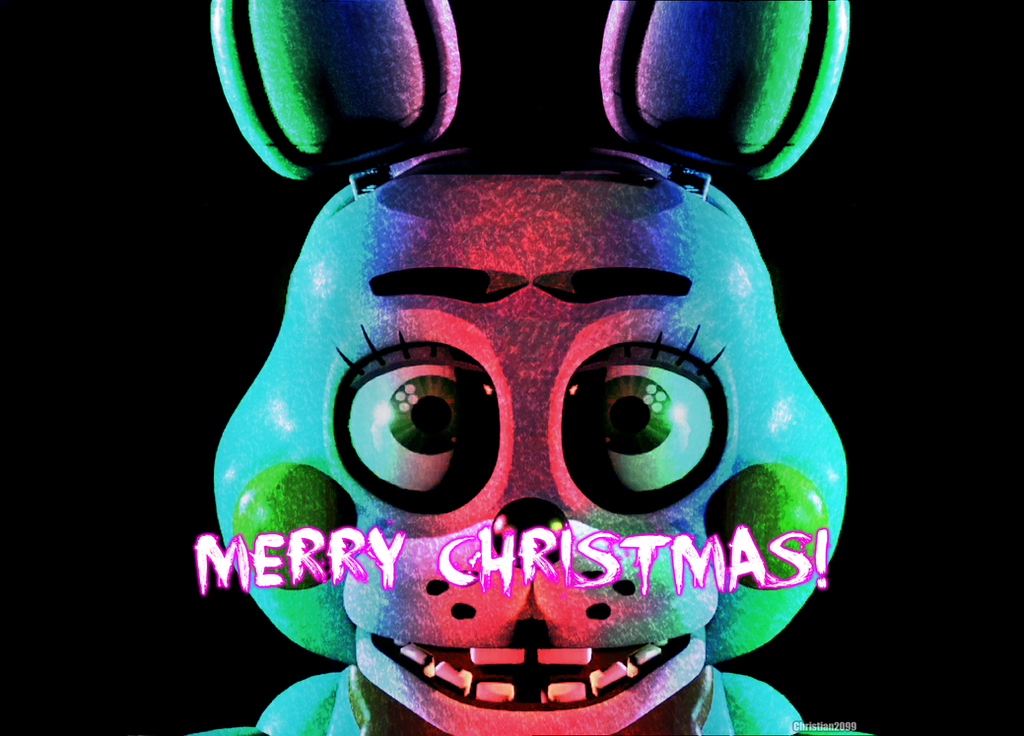 Five Night at Freddy's [ToyBonnie]Merry Christmas! by ...