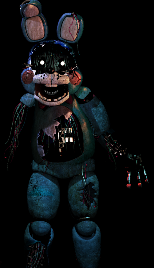 Five Nights at Freddy's [Withered Toy Bonnie] by Christian2099 on