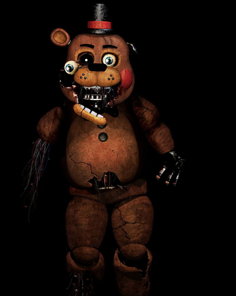 Old Freddy Toys : Five nights at freddy s withered toy by