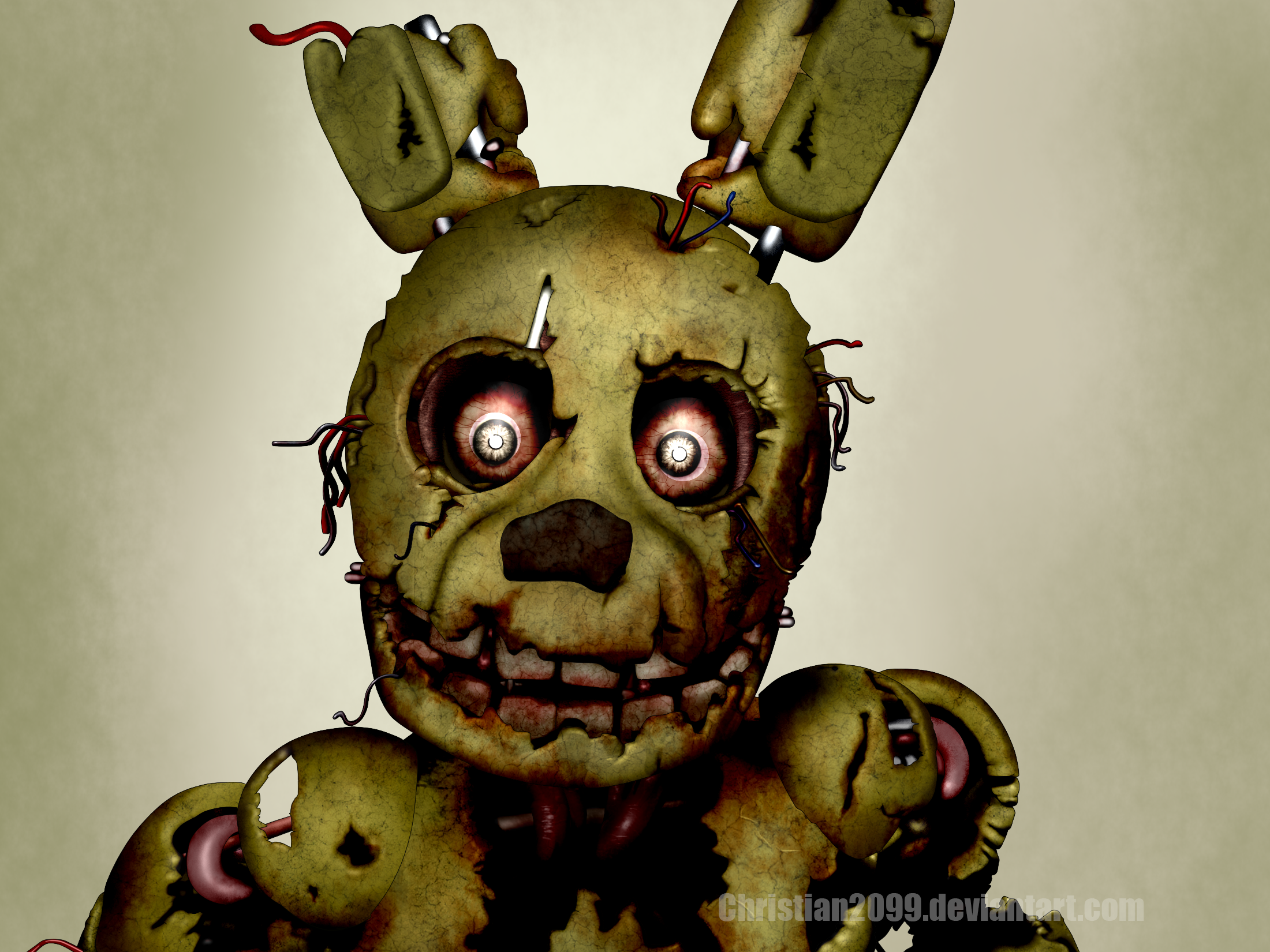 Five nights at freddy 39 s 3 springtrap by christian2099 on deviantart - Fotos trap ...