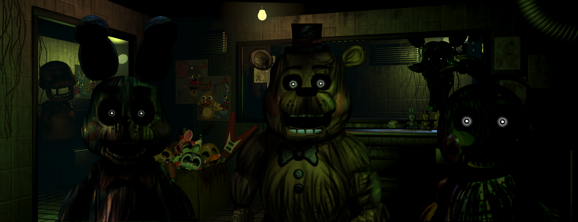 Five nights at freddy s 3 by christian2099 on deviantart
